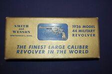 Smith & Wesson Pre-Model 21 44 Military Revolver Box