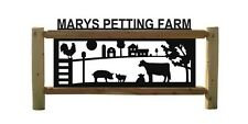 Personalized Signs - Cows -Barns - Chickens - Roosters - Farm & Ranch Decor
