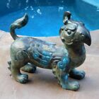 PAIR Bronze Griffons/Lions Teahouse Hollywood Regency Vintage Modern Sculpture