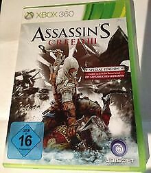 Assasin's Creed 3 (Special Edition) Deutsch XBOX 360 (PA... | Game | Zustand gut