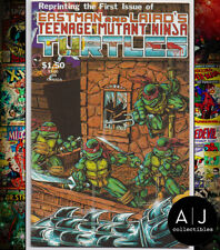 Teenage Mutant Ninja Turtles #1 4th Print NM- 9.2 (Mirage)