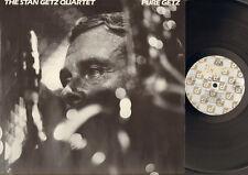 STAN GETZ Quartet PURE GETZ James McNeely  LP MINT