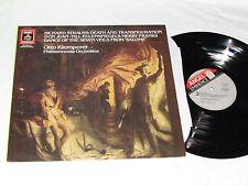 RICHARD STRAUSS Death and Transfiguration/Don Juan LP 1986 Otto Klemperer ANGEL