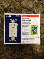 Leviton 15A Tamper Resistant GFCI Outlet 3-Pack X7599-3T