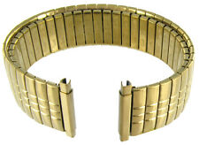 18-22mm Speidel Stainless Gold Tone Metal Watch Band 1380/37