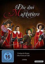 Die drei Musketiere  - Haudegen d. Königin - Teil 1 & 2  - 2 DVD `s - Neu u. OVP