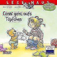 LESEMAUS 83: Conni geht aufs Töpfchen von Liane Schneider (2017, Taschenbuch)