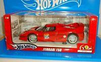 Hot Wheels 1:18 2007 Release Ferrari F50 Red Ferrari 60 Relay 60th Anniversary