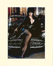 ELVIRA CASSANDRA PETERSON PP 8x10 MOUNTED SIGNED AUTOGRAPH PHOTO