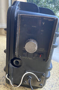 Miller SuitCase X-Treme 8VS Wire Feeder Welder Untested Well Used POWERS ON !!