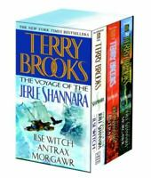 The Voyage of the Jerle Shannara 3 Volumes Box Set by Terry Brooks - Paperback