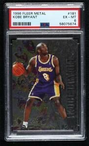 1996-97 Fleer Metal Kobe Bryant #181 PSA 6 Rookie RC HOF