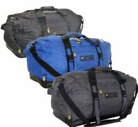 Mens Ladies Unisex JCB Holdall Sports Duffle Bag Travel Flight Cabin 49.5L