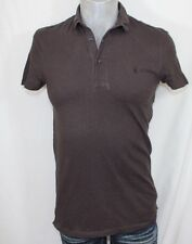 All saints distressed polo shirt size small