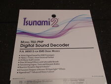 TSUNAMI 2 TSU-PNP P.N. 885013 EMD DIESEL DIGITAL SOUND DECODER BIGDISCOUNTTRAINS