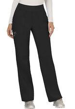 Scrubs Cherokee Workwear Mid Rise Pull On Pant Ww110 Blk Black Free Shipping