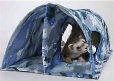 Marshall Ferret Cage Double Fun Play Tunnel Toy Blue