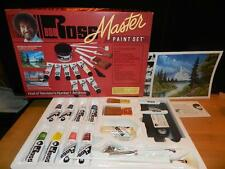 New BOB ROSS MASTER PAINT SET Oil Color COMPLETE w/ Brushes Paint & Video NOS