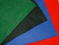 150cm Wide Felt Baize Poker Bridge Card Craft Table Fabric - Great Colour Choice