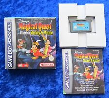 Magical Quest Staring Mickey & Minnie, Advance Spiel, OVP Anleitung