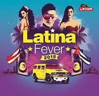 LATINA FEVER 2018  4 CD NEW