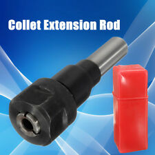 1/2'' Shank Bits Router Collet Extension Rod 90mm Kit Set For Engraving Machine