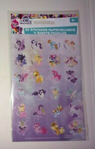 MY LITTLE PONY MLP 96 STICKERS AUTOCOLLANTS 4 SHEETS (NEW)