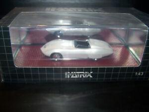 1968 Chevrolet Astron Vette show car 1/43 model by Matrix n NEO GLM