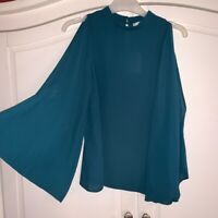 Oasis Green Blouse Top Size 8 BNWT RRP £32