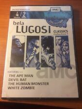 Bela Lugosi Collection 1 (DVD, BRAND NEW) 4 movies, 2 dvds...165