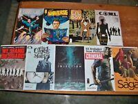 Lot Of 9 Independent Comics -- All Image Comics -- Lil Depressed Boy / Saga