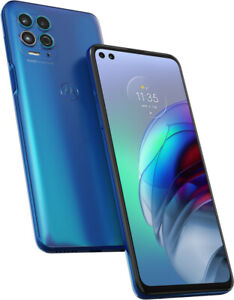 Motorola moto g100 Dual-SIM iridescent ocean blau Smartphone ohne Simlock - Neu