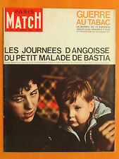 Paris Match 772 du 25/01/1964-Guerre au tabac-Le petit malade de Bastia-B.Bardot