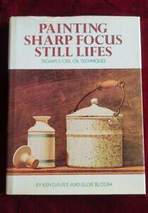 Ken Davies Painting Sharp Focus Still Lifes Trompe L'oeil Techniques Hardcover