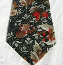 Aeropostale Winter Floral Silk Neck Tie