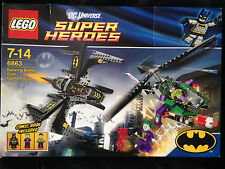 LEGO DC Comics Super Heroes Batwing Battle Over Gotham City (6863) Complete Box