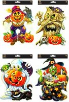 Halloween Window Stickers Decoration Wall Spooky Decal Party Kids Children