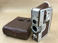 Goerz Minicord III Brown Subminiature TLR Camera w/Leather Case-Made In Austria