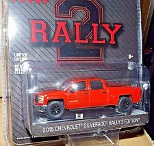Greenlight 2015 CHEVROLET SILVERADO RALLY 2 EDITION WITH trailer hitch HOBBY