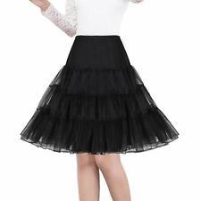 "Women 50s Vintage Petticoat 26"" Crinoline Rockabilly Tutu Skirt Slip SKIRT SLIP"