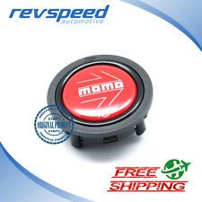 MOMO Steering Wheel Horn Button Red Flat Genuine New Type SPHOARWREDCHF