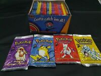 4 Factory Sealed Pokemon Base Set 2 Booster Pack Each Art RARE! READ DESCRIPTION