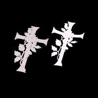 Stanzschablone Rose Kreuz Weihnachts Hochzeit Oster Geburstag Album Karte Deko