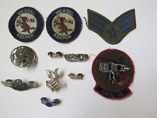 air force patch 37 Crs Weasel Keeper F4G Wings Us Pin badge brooch vintage war