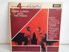 RONNIE ALDRICH and his two pianos PFS 4019