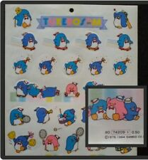 TUXEDO SAM STICKER SHEET SANRIO HELLO KITTY 1984 CUTE RARE VINTAGE UNUSED