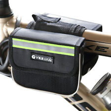 Bike Bicycle Cycling Mountain Frame Front Tube Pannier Saddle Bag Tube Pouch 002