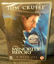 Minority Report (DVD, 2007, 2-Disc Set). NEW & SEALED. TOM CRUISE. MY REF B2