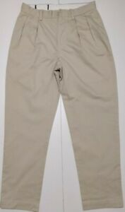Polo Ralph Lauren Men's Classic Fit Pleated Chino In ETHAN PANT, Size 31W/30L