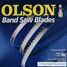 """Olson Flex Back Bandsaw Blade 67-1/2"""" L x 1/4"""" W x 14 TPI Regular Tooth"""